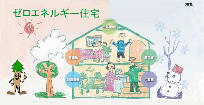 ゼロエネルギー住宅のTOP
