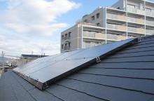 自然エネルギーの太陽光発電
