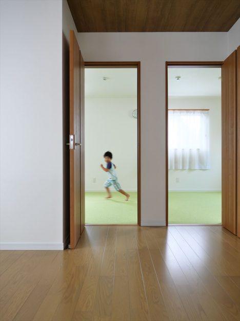走り回れる子供部屋