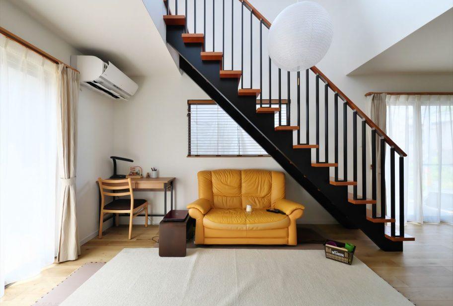お洒落なオープン階段